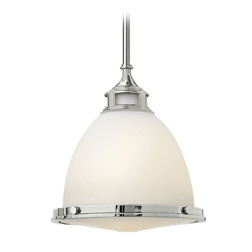 Hinkley Lighting Hinkley Lighting Amelia Chrome Mini-Pendant Light with Bowl / Dome Shade 3124CM-GU24
