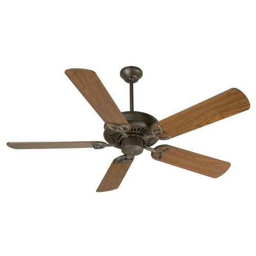 Craftmade Lighting Craftmade Lighting American Tradition Aged Bronze Textured Ceiling Fan Without Light K10601