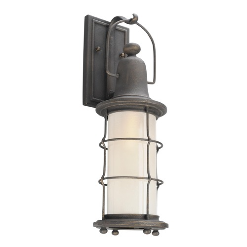 Troy Lighting Troy Lighting Maritime Vintage Bronze LED Outdoor Wall Light BL4441