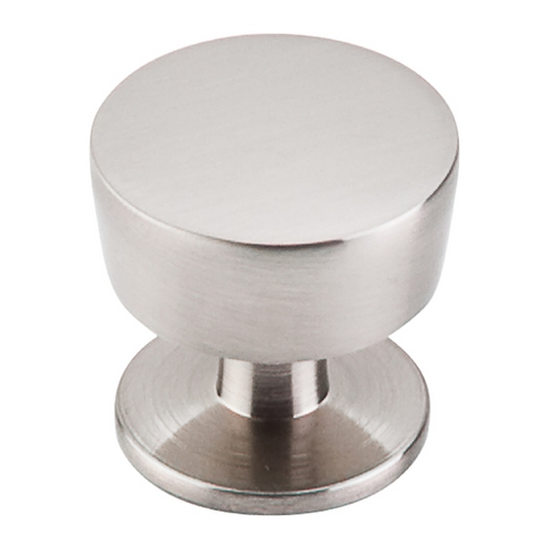 Top Knobs Hardware Modern Cabinet Knob in Brushed Satin Nickel Finish M1122