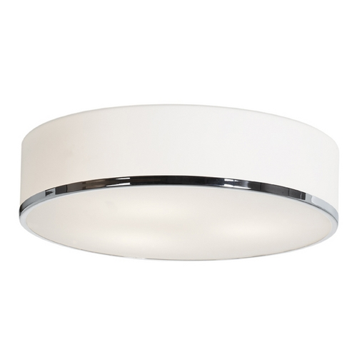 Access Lighting Access Lighting Aero Chrome LED Flushmount Light 20672LEDD-CH/OPL