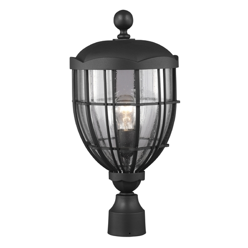 Feiss Lighting Feiss Lighting River North Textured Black Post Light OL9808TXB