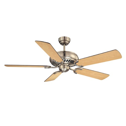 Savoy House Savoy House Satin Nickel Ceiling Fan Without Light 52-SGC-5RV-SN