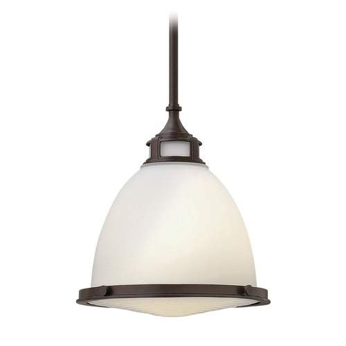 Hinkley Lighting Hinkley Lighting Amelia Buckeye Bronze Mini-Pendant Light with Bowl / Dome Shade 3124KZ-GU24