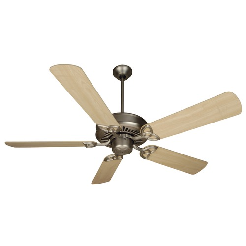 Craftmade Lighting Craftmade Lighting American Tradition Brushed Satin Nickel Ceiling Fan Without Light K10602