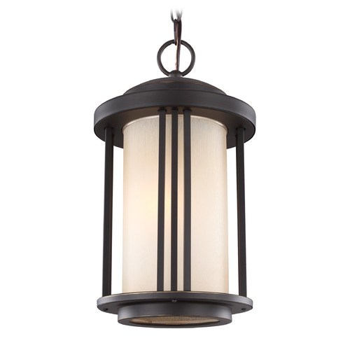 Sea Gull Lighting Sea Gull Crowell Antique Bronze Outdoor Hanging Light 6247901-71