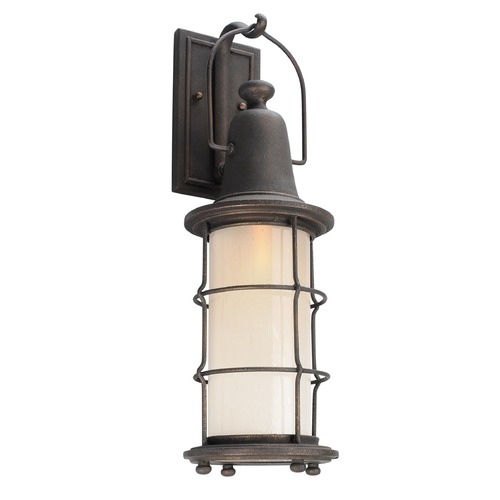 Troy Lighting Troy Lighting Maritime Vintage Bronze LED Outdoor Wall Light BL4442