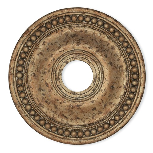 Livex Lighting Livex Lighting Wingate Hand Applied European Bronze Ceiling Medallion 82074-36