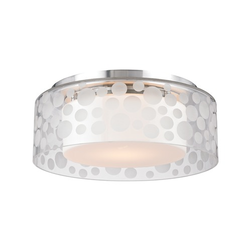 Hudson Valley Lighting Hudson Valley Lighting Carter Satin Aluminum LED Flushmount Light 7811-SA