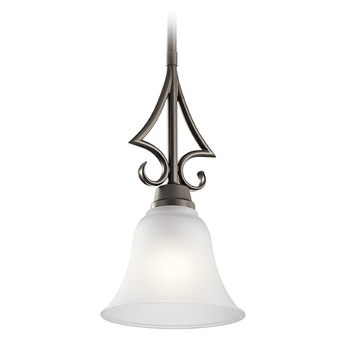 Kichler Lighting Kichler Lighting Bixler Olde Bronze Mini-Pendant Light with Bell Shade 43941OZ