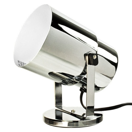 Satco Lighting Chrome Adjustable Up Light Lamp 77-397
