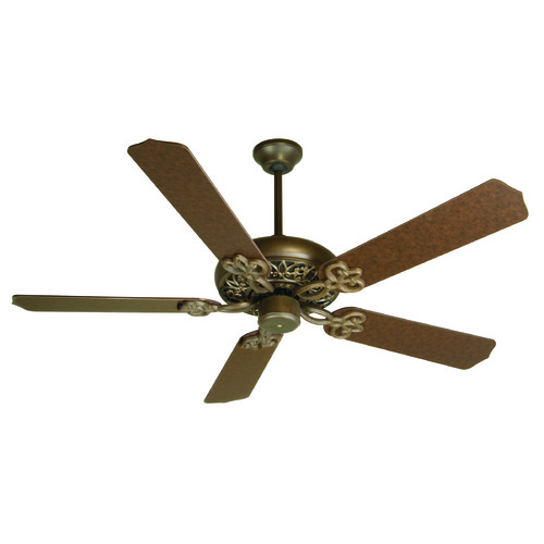 Craftmade Lighting Craftmade Lighting Cecilia Aged Bronze Textured Ceiling Fan Without Light K10614