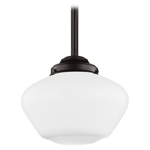 Feiss Lighting Feiss Alcott Oil Rubbed Bronze LED Pendant Light P1387ORB-LED