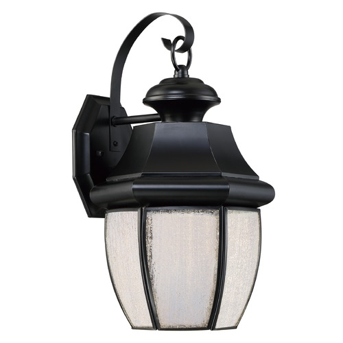 Quoizel Lighting Quoizel Lighting Newbury LED Mystic Black Outdoor Wall Light NYL8409K