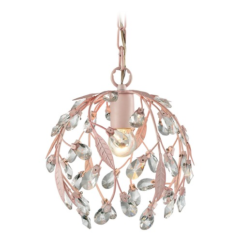 Elk Lighting Elk Lighting Circeo Light Pink Mini-Pendant Light 18150/1