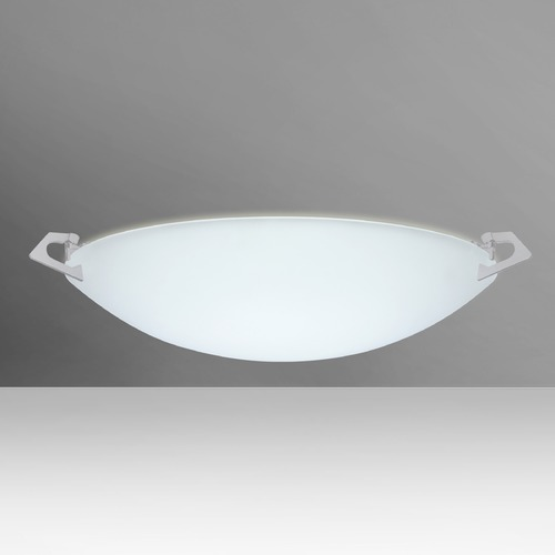 Besa Lighting Besa Lighting Sonya Satin Nickel Flushmount Light 841725-SN
