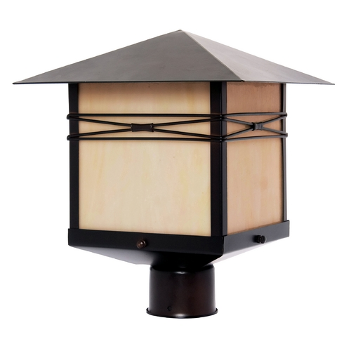 Maxim Lighting Maxim Lighting Taliesin Burnished Post Light 8044IRBU