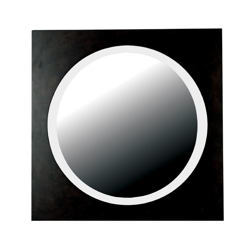 Kenroy Home Lighting Eclipse Round 34-Inch Mirror 60023