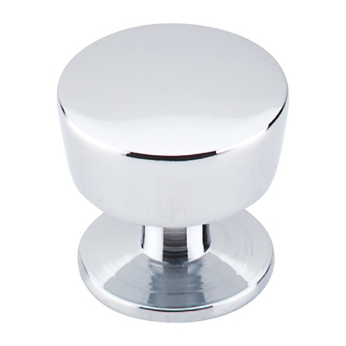 Top Knobs Hardware Modern Cabinet Knob in Polished Chrome Finish M1124
