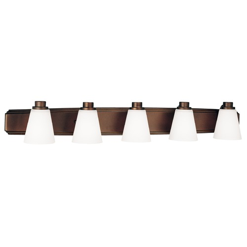 Dolan Designs Lighting Five-Light Bathroom Light 3405-62