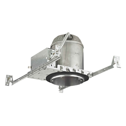 Recesso Lighting by Dolan Designs 5-Inch New Construction LED Recessed Can Light IC & Airtight Flat Ceiling IC502-LED