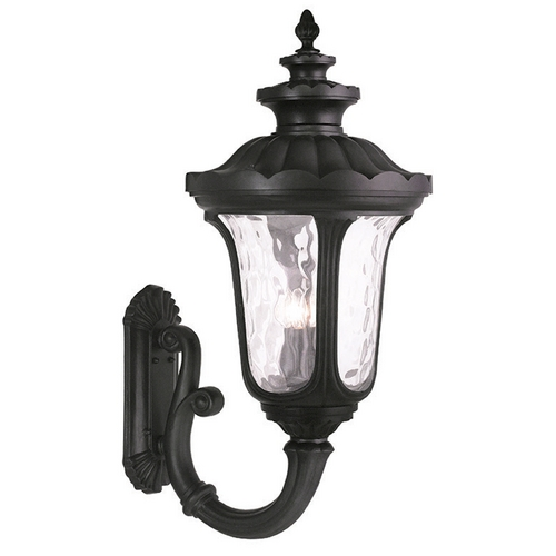 Livex Lighting Livex Lighting Oxford Black Outdoor Wall Light 78700-04