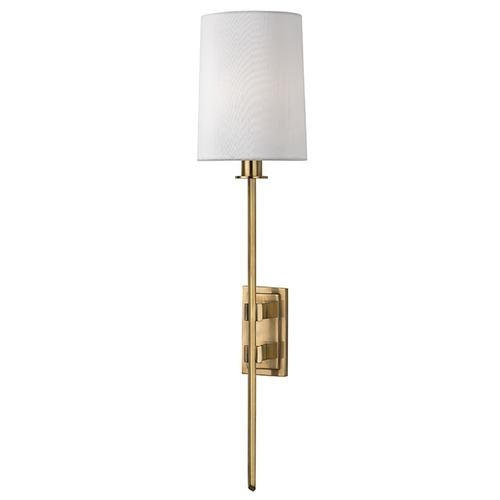 Hudson Valley Lighting Fredonia ADA 1 Light Sconce - Aged Brass 3411-AGB