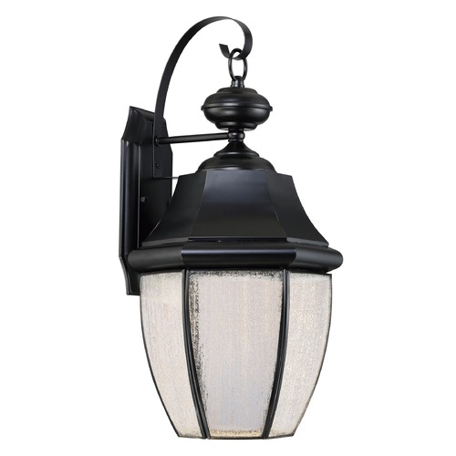 Quoizel Lighting Quoizel Lighting Newbury LED Mystic Black Outdoor Wall Light NYL8411K
