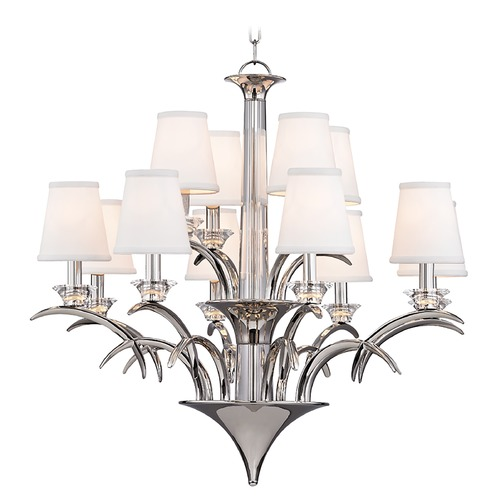 Hudson Valley Lighting Hudson Valley Lighting Marcellus Polished Nickel Chandelier 3199-PN