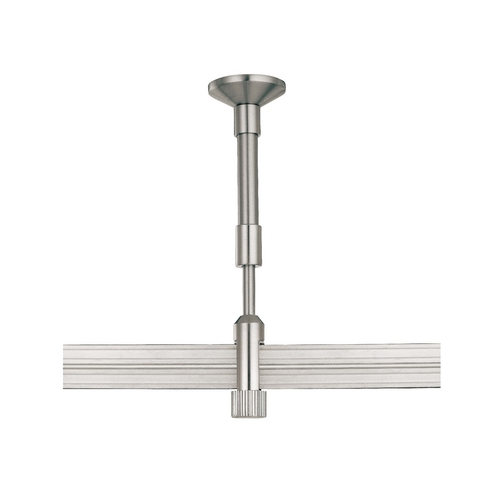 George Kovacs Lighting Rail, Cable, Track Accessory in Brushed Nickel Finish GKST1004-084