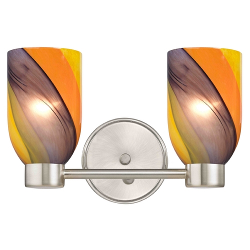 Design Classics Lighting Design Classics Aon Fuse Satin Nickel Bathroom Light 1802-09 GL1015D