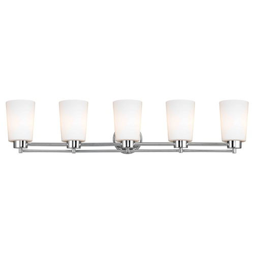 Design Classics Lighting Design Classics Salida Fuse Chrome Bathroom Light 706-26 GL1027