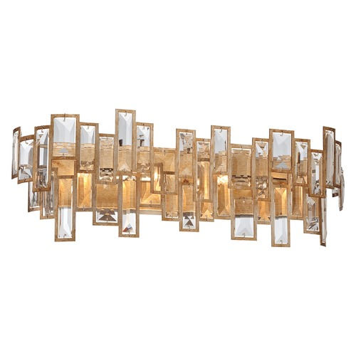 Metropolitan Lighting Metropolitan Bel Mondo Luxor Gold Bathroom Light N2674-274