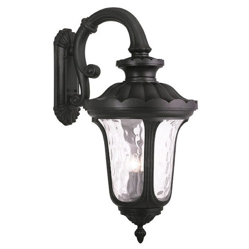 Livex Lighting Livex Lighting Oxford Black Outdoor Wall Light 78701-04