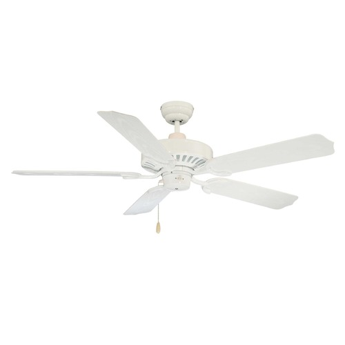 Savoy House Savoy House White Ceiling Fan Without Light 52-SGO-5W-WH