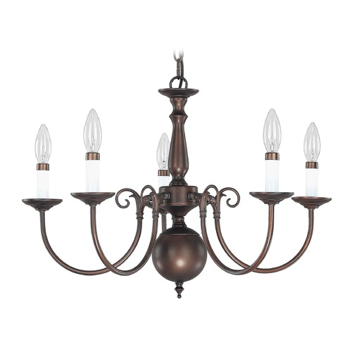 Capital Lighting Capital Lighting Burnished Bronze Chandelier 3125BB