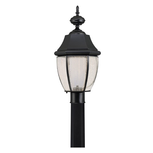 Quoizel Lighting Quoizel Lighting Newbury LED Mystic Black Post Light NYL9011K