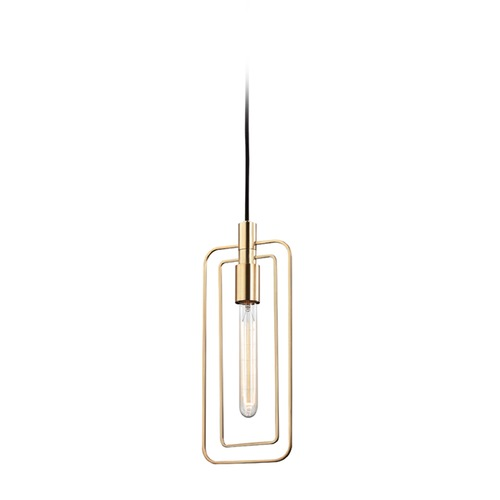 Hudson Valley Lighting Hudson Valley Lighting Masonville Aged Brass Mini-Pendant Light 3030-AGB