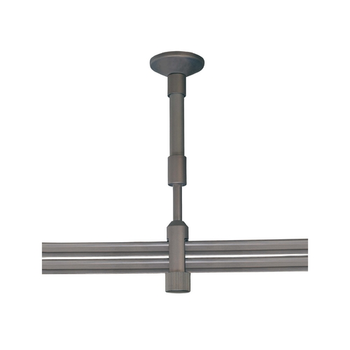 George Kovacs Lighting Rail, Cable, Track Accessory in Sable Bronze Patina Finish GKST1004-467