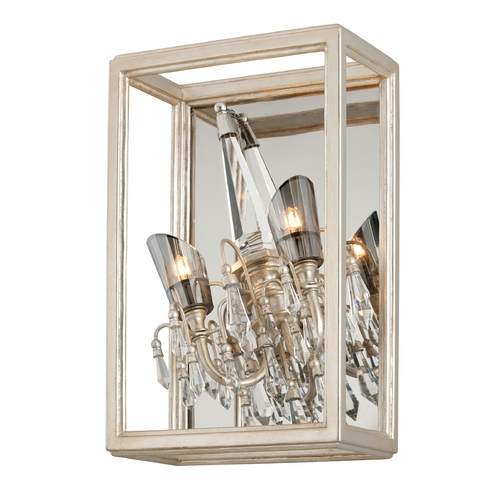 Corbett Lighting Corbett Lighting Houdini Silver Leaf with Gold Leaf Sconce 177-13