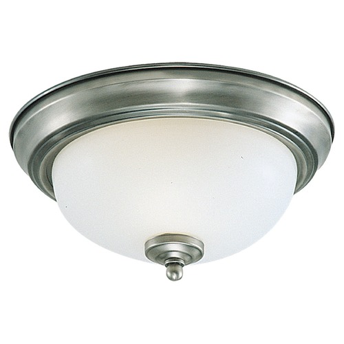 Sea Gull Lighting Sea Gull Lighting Ceiling Flush Mount Brushed Nickel LED Flushmount Light 77063S-962