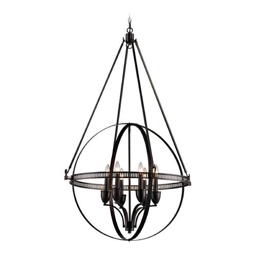 Elk Lighting Pendant Light in Oil Rubbed Bronze Finish 10393/6