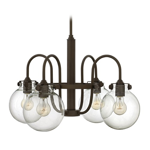 Hinkley Lighting Hinkley Lighting Congress Oil Rubbed Bronze Chandelier 3044OZ