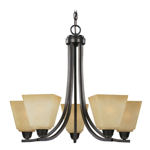 Sea Gull Lighting Sea Gull Lighting Parkfield Flemish Bronze Chandelier 3113005-845