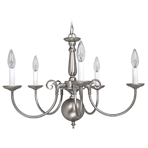 Capital Lighting Capital Lighting Matte Nickel Chandelier 3125MN