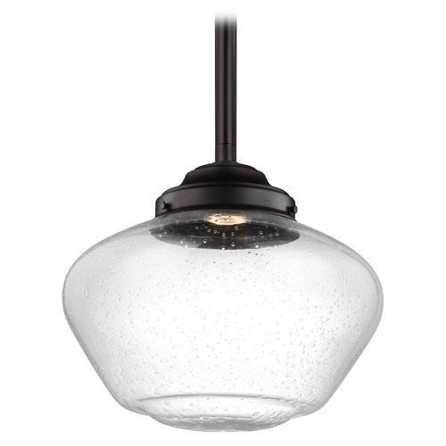 Feiss Lighting Feiss Lighting Alcott Oil Rubbed Bronze LED Pendant Light P1388ORB-LED
