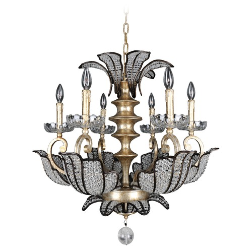 Allegri Lighting Tiepolo 6 Light Chandelier 11256-028-FR001
