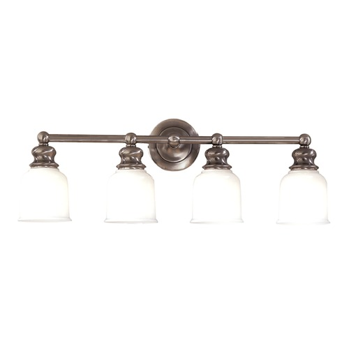 Hudson Valley Lighting Hudson Valley Lighting Riverton Antique Nickel Bathroom Light 2304-AN