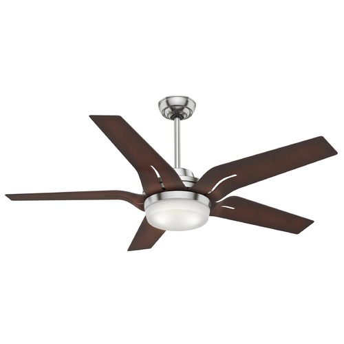 Hunter Fan Company Casablanca Fan Co Correne Brushed Nickel LED Ceiling Fan with Light 59198