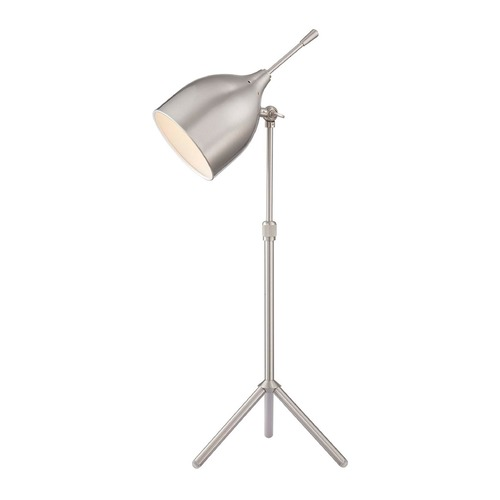 Lite Source Lighting Lite Source Ulric Polished Steel Desk Lamp LS-22808PS